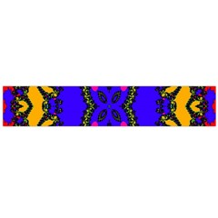 Digital Kaleidoscope Flano Scarf (large)
