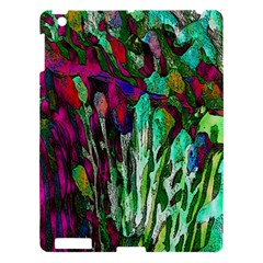 Bright Tropical Background Abstract Background That Has The Shape And Colors Of The Tropics Apple Ipad 3/4 Hardshell Case