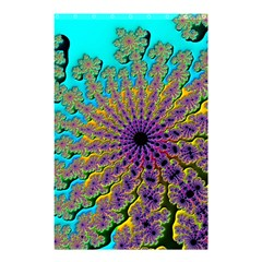 Beautiful Mandala Created With Fractal Forge Shower Curtain 48  X 72  (small)  by Nexatart