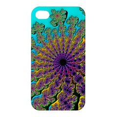 Beautiful Mandala Created With Fractal Forge Apple Iphone 4/4s Premium Hardshell Case by Nexatart