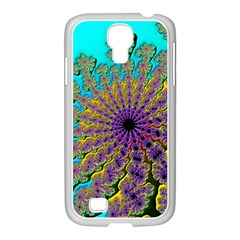 Beautiful Mandala Created With Fractal Forge Samsung Galaxy S4 I9500/ I9505 Case (white)