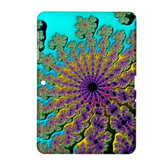 Beautiful Mandala Created With Fractal Forge Samsung Galaxy Tab 2 (10 1 ) P5100 Hardshell Case  by Nexatart