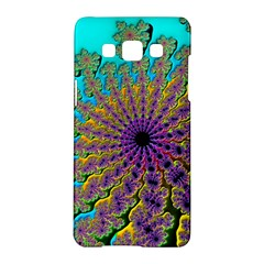 Beautiful Mandala Created With Fractal Forge Samsung Galaxy A5 Hardshell Case