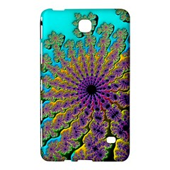 Beautiful Mandala Created With Fractal Forge Samsung Galaxy Tab 4 (7 ) Hardshell Case  by Nexatart