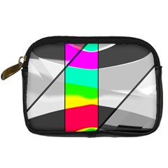 Colors Fadeout Paintwork Abstract Digital Camera Cases by Nexatart