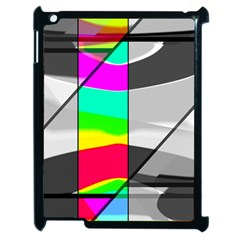 Colors Fadeout Paintwork Abstract Apple Ipad 2 Case (black) by Nexatart