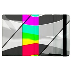 Colors Fadeout Paintwork Abstract Apple Ipad 3/4 Flip Case by Nexatart