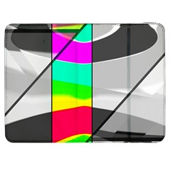 Colors Fadeout Paintwork Abstract Samsung Galaxy Tab 7  P1000 Flip Case