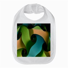 Ribbons Of Blue Aqua Green And Orange Woven Into A Curved Shape Form This Background Amazon Fire Phone
