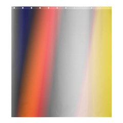 Digitally Created Abstract Colour Blur Background Shower Curtain 66  X 72  (large)  by Nexatart