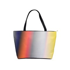 Digitally Created Abstract Colour Blur Background Shoulder Handbags by Nexatart