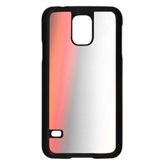 Digitally Created Abstract Colour Blur Background Samsung Galaxy S5 Case (black)