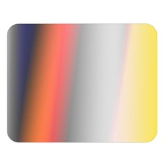 Digitally Created Abstract Colour Blur Background Double Sided Flano Blanket (large)  by Nexatart