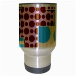 Part Background Image Travel Mug (Silver Gray) Center