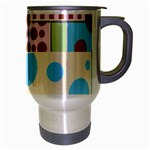 Part Background Image Travel Mug (Silver Gray) Right