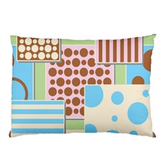 Part Background Image Pillow Case (two Sides) by Nexatart