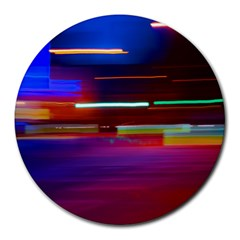 Abstract Background Pictures Round Mousepads by Nexatart