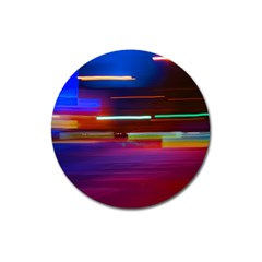 Abstract Background Pictures Magnet 3  (round)