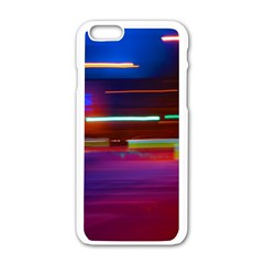 Abstract Background Pictures Apple Iphone 6/6s White Enamel Case by Nexatart