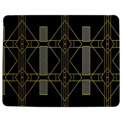 Simple Art Deco Style Art Pattern Jigsaw Puzzle Photo Stand (rectangular) by Nexatart