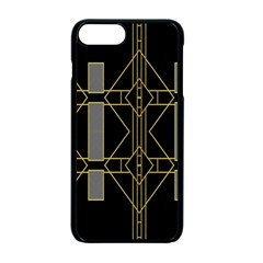 Simple Art Deco Style Art Pattern Apple Iphone 7 Plus Seamless Case (black) by Nexatart