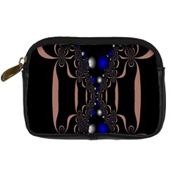 An Interesting Mix Of Blue And Other Colours Balls Digital Camera Cases by Nexatart