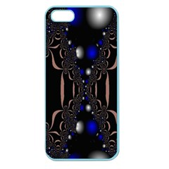 An Interesting Mix Of Blue And Other Colours Balls Apple Seamless Iphone 5 Case (color) by Nexatart