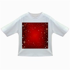Red Holiday Background Red Abstract With Star Infant/toddler T Shirts