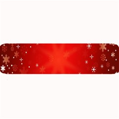 Red Holiday Background Red Abstract With Star Large Bar Mats by Nexatart
