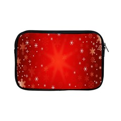 Red Holiday Background Red Abstract With Star Apple Ipad Mini Zipper Cases by Nexatart