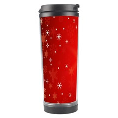 Red Holiday Background Red Abstract With Star Travel Tumbler