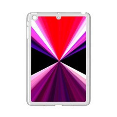 Red And Purple Triangles Abstract Pattern Background Ipad Mini 2 Enamel Coated Cases by Nexatart