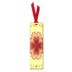 Yellow Digital Kaleidoskope Computer Graphic Small Book Marks by Nexatart