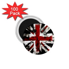 British Flag 1 75  Magnets (100 Pack)  by Nexatart