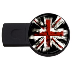 British Flag Usb Flash Drive Round (2 Gb) by Nexatart