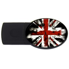 British Flag Usb Flash Drive Oval (2 Gb) by Nexatart