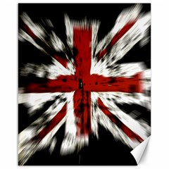 British Flag Canvas 16  X 20
