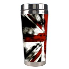 British Flag Stainless Steel Travel Tumblers by Nexatart