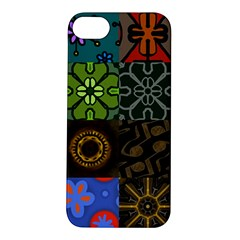 Digitally Created Abstract Patchwork Collage Pattern Apple Iphone 5s/ Se Hardshell Case by Nexatart