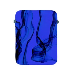 Blue Velvet Ribbon Background Apple Ipad 2/3/4 Protective Soft Cases