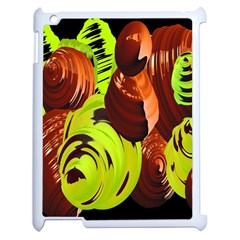 Neutral Abstract Picture Sweet Shit Confectioner Apple Ipad 2 Case (white) by Nexatart