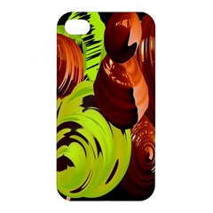 Neutral Abstract Picture Sweet Shit Confectioner Apple Iphone 4/4s Premium Hardshell Case by Nexatart