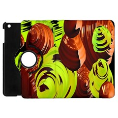 Neutral Abstract Picture Sweet Shit Confectioner Apple Ipad Mini Flip 360 Case by Nexatart