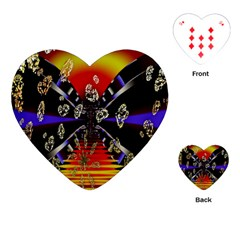 Diamond Manufacture Playing Cards (heart)  by Nexatart