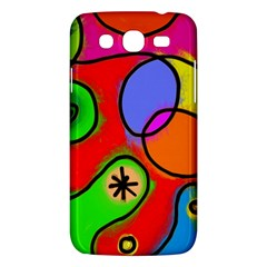 Digitally Painted Patchwork Shapes With Bold Colours Samsung Galaxy Mega 5 8 I9152 Hardshell Case  by Nexatart