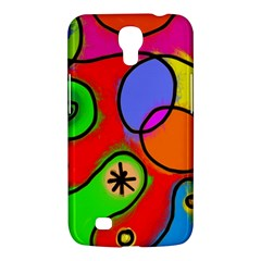 Digitally Painted Patchwork Shapes With Bold Colours Samsung Galaxy Mega 6 3  I9200 Hardshell Case by Nexatart
