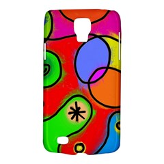 Digitally Painted Patchwork Shapes With Bold Colours Galaxy S4 Active by Nexatart