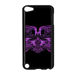 Beautiful Pink Lovely Image In Pink On Black Apple Ipod Touch 5 Case (black) by Nexatart