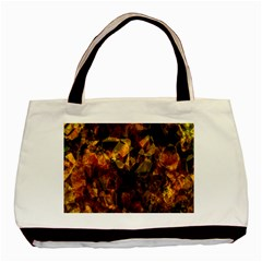 Autumn Colors In An Abstract Seamless Background Basic Tote Bag by Nexatart