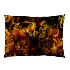 Autumn Colors In An Abstract Seamless Background Pillow Case by Nexatart